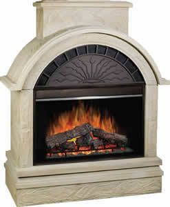 Dimplex Scottsdale Outdoor Electric Fireplace
