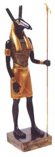 large egyptian god of the desert chaos seth figurine large egyptian