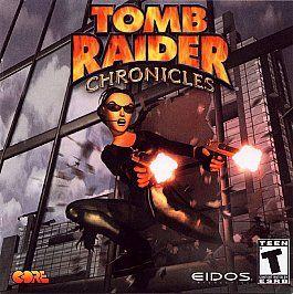 Croft TOMB RAIDER CHRONICLES Eidos PC GAME 2x CD Rom Set w/ LEVEL EDIT