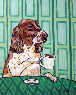 English Springer Spaniel Coffee Animal Dog Artist Mug