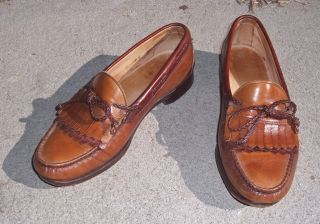 Edmonds Woodstock Mens Dress Shoes Loafers Slip Ons Size 9 E
