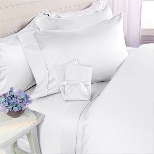 Full Queen King Cal King Deep Pocket 4 Piece Bed Sheet Set with Pillow