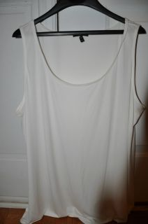 Eileen Fisher Woman Size 2X Ivory Tank Top Shell
