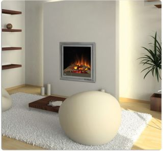 Napoleon EF30 Electric Fireplace Flush Wall Mount w/ heater and Remote