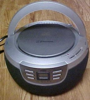 Emerson PD5201 Portable CD Player w Radio