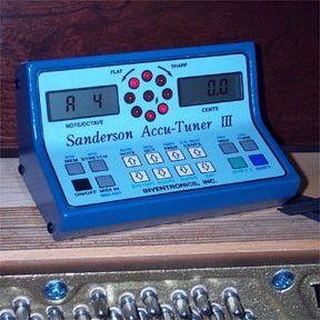 Sanderson Accu Tuner III, Electronic Piano Tuning Device, SAT III