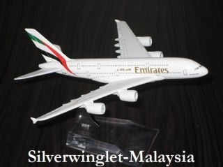 Emirates Airlines Airbus A380 800 Metal Diecast Scale Model Airplane