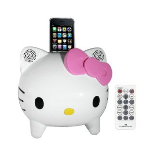 Hello Kitty Hello Kitty Stereo Speaker System with Built in iPhone