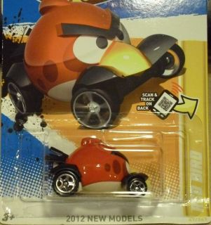 HOT WHEELS 2012 ANGRY BIRDS RED BIRD HW PREMIERE 47 247 P CASE NEW