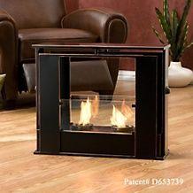 portable indoor outdoor gel fuel fireplace price $ 159 95 or 3