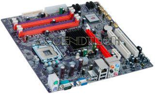 ECS G33T M2 V1 0 Intel G33 1333FSB 4X DDR2 4X SATA2 VGA Micro ATX