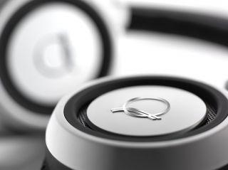 AKG Q 460 Headband Headphones DJ Portable Folding White Quincy Jones