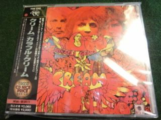Cream Disraeli Gears Japan CD w OBI Eric Clapton C541