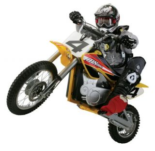 Razor MX650 Dirt Rocket Electric Compact Motocross Bike Brand New