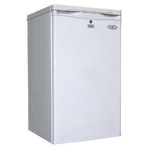 SPT Sunpentown UF 311W Energy Star 3 Cubic Foot Upright Freezer, White
