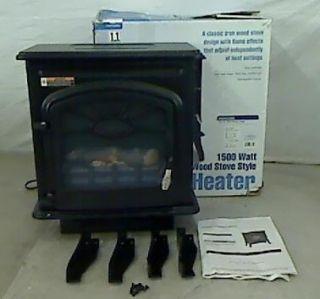 wholesale pallets 1500 watt wood stove style electric heater