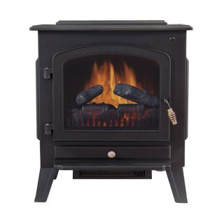 Tahoe 90402200 Dual Power Electric Stove Fireplace Heater
