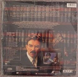Selleck Court of Honor Novel Elizabeth McGovern RARE Laserdisc