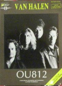 Eddie Van Halen OU812 Guitar Tab Song Book Tablature RARE Book