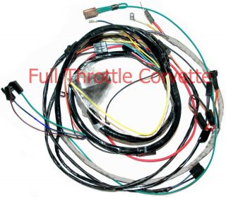 1970 Corvette Engine Wiring Harness Automatic Trans New