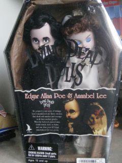 Living Dead Dolls Edgar Allan Poe Annabel Lee Doll Set