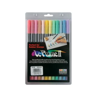LePlume II Marker Set   12 Assorted Pastel Colors