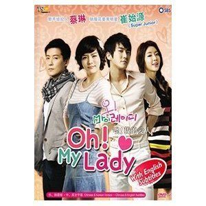Oh My Lady Korean Drama DVD with English Subtitle