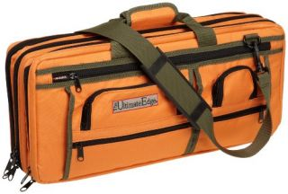 The Ultimate Edge 2001 Edor Deluxe Chef Knife Case Orange Brand New
