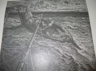 Large 19th Century Gustave Dore Book Illustration