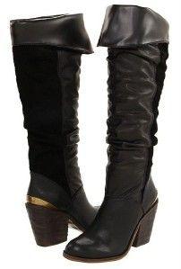 lucky brand edina womens black heel boots