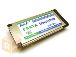 SATA Hard Disk Drive HDD to E SATA ExpressCard Adapter