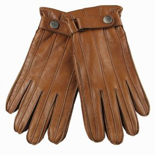 Elma Mens Nappa Leather Winter Gloves Super Warm Cashmere Lining