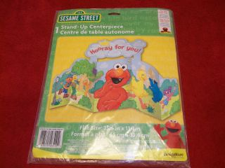 NEW Sesame Street Elmo Birthday Party Decorations Stand Up Centerpiece