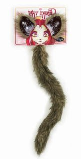 Fox Cat Ears and Tail Adult Child Kids Costume Kit Elope