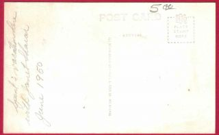 Elk Rapids MI Island House View 1950 RPPC Postcard Antrim County