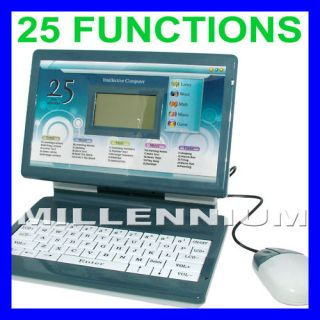 Educational Kids Childrens LAPTOP Alphabet Letters Math Spelling Girls