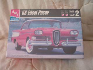 '58 Edsel Pacer AMT Model Kit in Original SEALED Box
