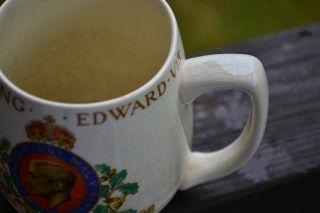 Meakin Coronation King Edward VIII Mug May 1937 British Pottery