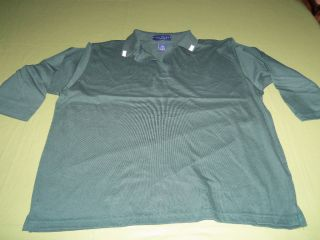 WHOLESALE 12 PC. LOT OF LADIES 3/4 LENGTH SLEEVE SHIRTS, HUNTER GREEN