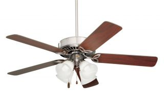 double twin harbor breeze airspan 69 ceiling fan platinum. Black Bedroom Furniture Sets. Home Design Ideas
