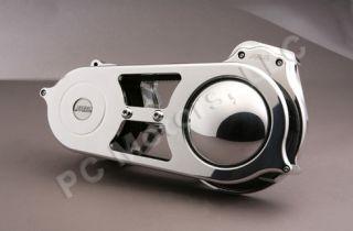 EV 625C Chrome Finish 2 BDL Belt Drive Fits 2007 Up Softail & 2006 Up
