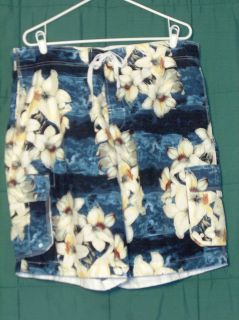 ISLAND SHORES Mens Swim Suit Board Shorts Trunks Size XL nwot