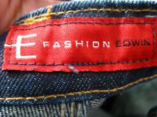 Fashion Edwin Dark Blue Wash Jeans Pants 27