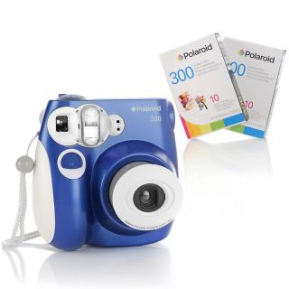 Polaroid 300 Instant Camera with 2 Instant Film Packs