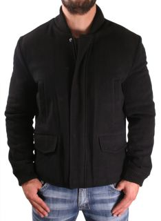 Kenneth Cole New York Mens Bomber Jacket Coat Peacoat