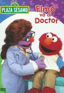Elmo VA Al Doctor Sesame Street Elmo Visits The Doctor DVD New