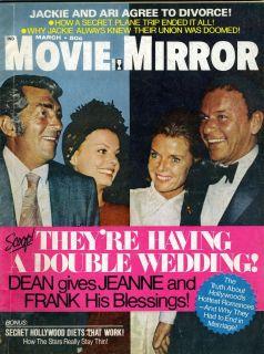 Movie Magazine Frank Sinatra Samantha Eggar Roger Moore David Cassidy