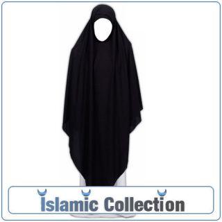 Black Triangle Khimar Hijab Abaya Niqab Jilbab Veil Eid
