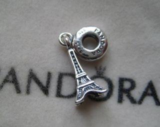 New Pandora 925 Sterling Silver CHARM EIFFEL TOWER SILVER DANGLE