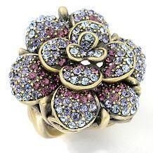 jacket $ 99 95 $ 199 90 heidi daus belgium disc crystal ring $ 39 95